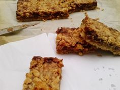 peanut butter chocolate bars (made with cake mix)