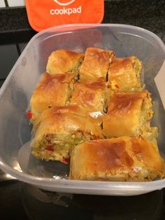 Pizza Tarts, Food Network Recipes, Cooking Recipes, The Kitchen Food Network, Recipe Sites, Spanakopita, Greek Recipes, Chicken Recipes, Bakery