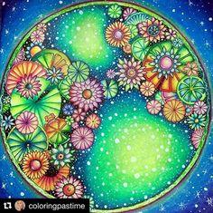 Bom dia amigos❣️ Inspiração fantástica para começar a semana colorindo muito!!! Quem aí amou? ❤️ By @coloringpastime ---------------------------------  Quer ter o seu desenho postado no nosso ig? Marque a tag #selvamagicaoficial --------------------------------- #oceanoperdido #jardimsecreto #florestaencantada #lostocean #secretgarden #enchantedforest #magicaljungle #ascoresdonatal #johannaschristmas #colorindo #coloring #johannabasford #editorasextante