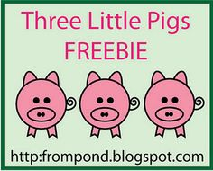 Three Little Pigs Cut & Paste