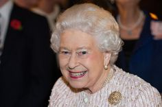 Queen Elizabeth II attends a Co-Operation Ireland Reception at Crosby Hall on November 8, 2016 in London, England