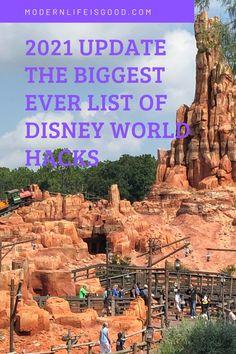 201 Walt Disney World Tips & Tricks - Modern Life is Good