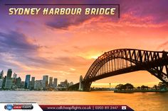 Sydney Harbour Bridge, Australia:  |    The #Sydney #Harbour #Bridge is a steel through arch bridge across Sydney Harbour that carries rail, #vehicular, #bicycle, and #pedestrian traffic between the Sydney central business district and the North Shore.  |    Source: https://en.wikipedia.org/wiki/Sydney_Harbour_Bridge  |    #australia #travel #flights #ccf #callcheapflights #travelagents #travelagentsinuk #cheapflights  |    Fly with our #ExclusiveOffers: http://www.callcheapflights.co.uk/