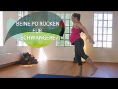 Workout für Schwangere: Beine Po Rücken // FlexibleFit - YouTube