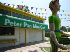 Spend a date playing among the uncanny valley characters of Peter Pan Mini-Golf . | 35 Things Everyone Should Do In Austin, Texas, Before They Die