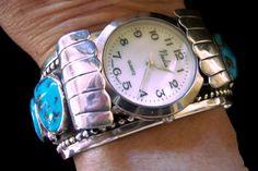 SALE  25% off.  Men's Turquoise Bracelet. by colorsofthesouthwest