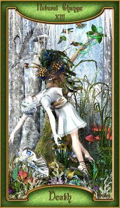 Death - Tarot Card 13 - Natural Change