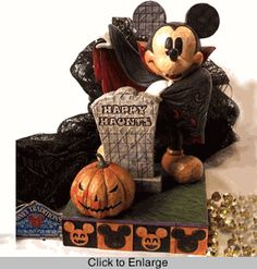 """Jim Shore Disney's Mickey Mouse """"Happy Haunts""""...I HAVE THIS ONE!"""
