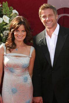 Laura Leighton & Doug Savant. Married since 1999.