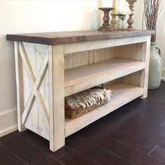 Fantastic Tricks: Home Furniture Cheap farmhouse furniture projects.Furniture Drawing Design home furniture worksheet. Country Farmhouse Decor, Farmhouse Furniture, Pallet Furniture, Furniture Projects, Rustic Furniture, Living Room Furniture, Wood Projects, Furniture Design, Furniture Stores