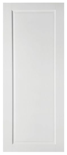 £98 - B & Q - 1 Panel Shaker Primed Smooth Internal Unglazed Door, (H)1981mm (W)762mm | Departments | DIY at B&Q