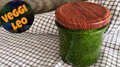 Bärlauchpaste - Rezept von Veggi Leo Outdoor Furniture, Outdoor Decor, Ottoman, Canning, Pesto, Dips, Youtube, Lenses, Sauces