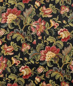 Swavelle / Mill Creek Noblesse Onyx Fabric - $20.05 | onlinefabricstore.net