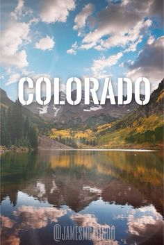 Colorado-- Been here once, but it wont be the last time for sure!!