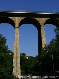 Viaducto de Luxemburgo en Ciudad de Luxemburgo