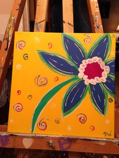 Painted for a coworker I. Memory of her sister