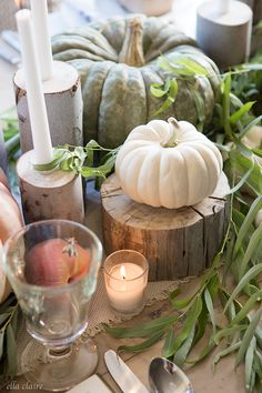 Farmhouse Fall Table...