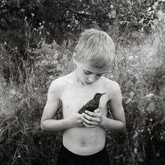 Sonhos inocentes na fotografia de Dara Scully