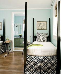 South Shore Blog Decorazione: in bianco e nero e blu In tutto