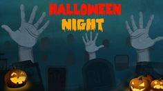 Halloween Night Nursery Rhymes - SCARY & SPOOKY Halloween Song for Child...