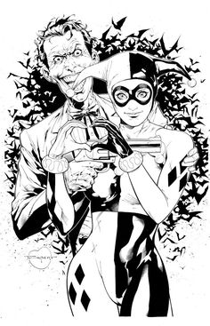 Harley and Mistah J by aethibert on DeviantArt