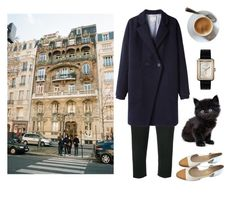 """""""La ville de la nuit"""" by mozart-and-coffee ❤ liked on Polyvore featuring Rick Owens, Chanel, Band of Outsiders and vintage"""