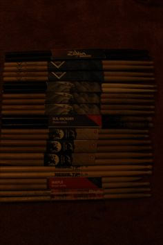 Nostalgia (Oldest pair of drumsticks to newest)