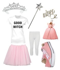 Diy glinda and wicked witch of the west costumes wicked witch modern diy glenda the good witch costume by ichelle montoya on polyvore featuring solutioingenieria Choice Image