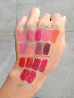 The RAEviewer: Chanel Rouge Allure Luminous Intense Lip Color [New/Reformulated] Lipstick Swatches + Review