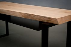 YOUR CUSTOM Live Edge Media Console Natural Rustic by ElpisWorks
