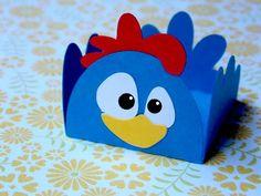 Forminha para doces da galinha pintadinha: