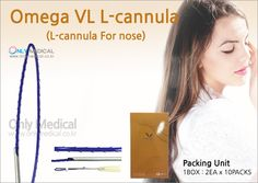 Nose Thread lifting 🌸 Omega VL L-cannula 🌸 ✅ Packing Unit : 1BOX has 2EA X 10PACKS ▶ 19 Gauge / 38mm Needle length / 50mm Thread length / 2 USP ◀ ★ Effect : Nose lift & Wrinkles removal Thread Lift, Wrinkle Remover, Omega, How To Remove, Packing, Medical, The Unit, Bag Packaging, Medicine