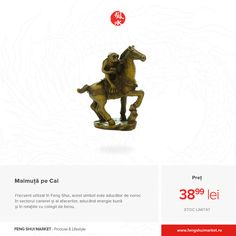 """Noțiunea """"Maimuță pe Cal"""", în limba chineză, are o intonație care rezonează cu sintagma """"Promovarea se apropie"""". Feng Shui"""