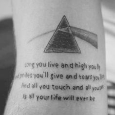 Love this Tattoo. For I have fetal Floyd syndrome