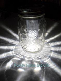 Hill House Homestead: Mason Jar Solar Light