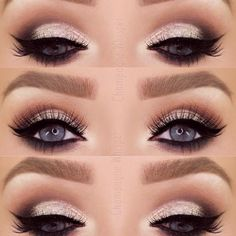 Easy Smokey Eye Makeup for Every Day ★ See more: https://makeupjournal.com/easy-smokey-eye-makeup/