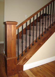 This is the BEST one I have seen for our purpose rod iron banisters   Iron Balusters l Unfinished Iron Balusters l Wrought Iron ...