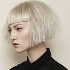 Ingenious Short Hairstyles with Bangs 2018 - hairstyles 19