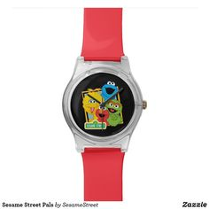 Shop Sesame Street Pals Wristwatch created by SesameStreet. Personalize it with photos & text or purchase as is! Presents For Kids, Gifts For Kids, Elmo Cookies, Sesame Street Characters, Oscar The Grouch, Sesame Street Party, Big Bird, Cool Gifts
