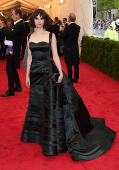 Pin for Later: Go Glam or Go Home: All the Stars on the Met Gala Red Carpet! Felicity Jones