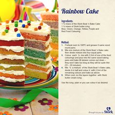 To celebrate our baking community reaching 250,000 incredible fans on Facebook, we wanted to share a delightful #recipe for our bakers to enjoy. #rainbowcake