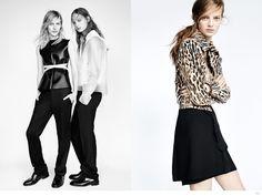 Edie Campbell, Julia Nobis + More Land Zaras Fall 2014 Campaign