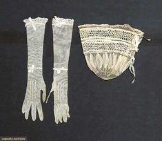 Reticule & Glove Set, England, C. 1820, Augusta Auctions, April 9, 2014 - NYC, Lot 155