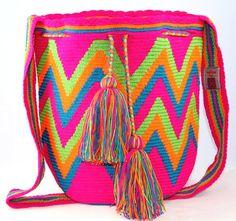 One of a Kind My Origen Large Wayuu Mochila-bag 2 by NativoStyle