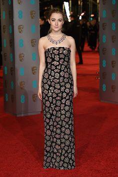 Saoirse Ronan - Best Hairstyles of the 2016 BAFTAs