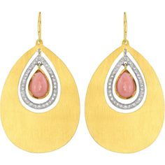 Officially ready for Spring in these Irene Neuwirth Pink Opal earrings