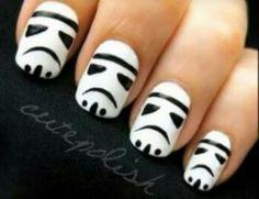 Stormtroper nails !!