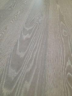 Rubio Monocoat Havanna Design Ideas, Pictures, Remodel and Decor - Fumed with White? Oak Hardwood Flooring, Wide Plank Flooring, Stone Flooring, Flooring Ideas, Oak Stain, Grey Stain, Oak Banister, Banisters, Red Oak Floors