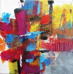 Painting-Acrylic-Kat Crosby Art: Games We Play 2