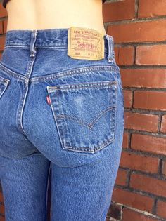 LEVIS 501 Jeans 27 Waist Vintage Mom Jeans by HuntedFinds on Etsy